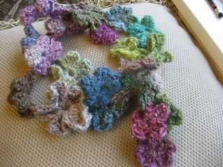 Flower scarf 2