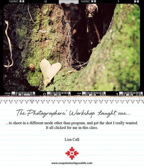 Student testimonial card-Lisa